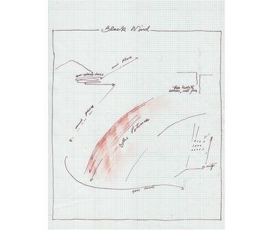 Rafael Hastings, 'Block wind. De la serie Dibujos Mentales', 1967-1978