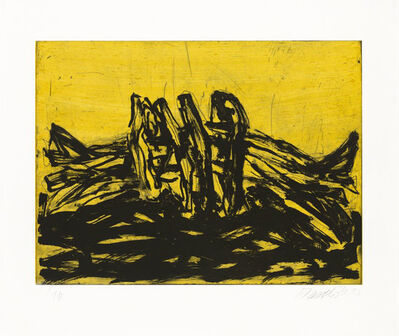 Georg Baselitz, 'Winterschlaf VI', 2014