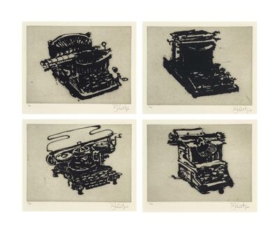William Kentridge, 'Typewriter I-VIII', 2003
