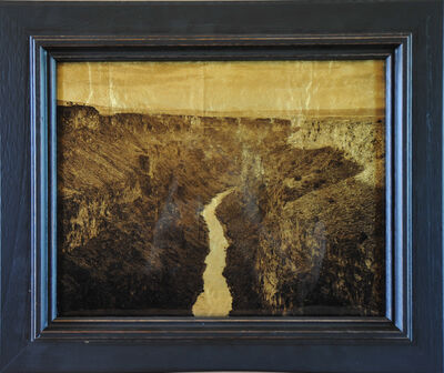 Kate Breakey, 'Rio Grande Gorge, NM', 2014