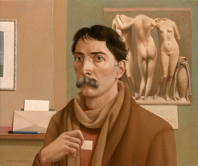 Alan Feltus, 'Self-portrait with Graces', 2000