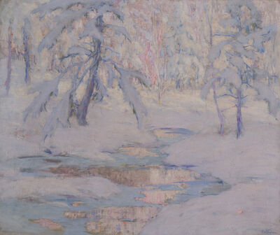 Harry Franklin Waltman, 'The Frozen Brook', 19th/20th century