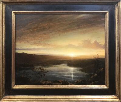 Ken Salaz, 'Sunset Over Hudson', ca. 2020