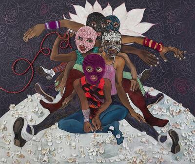 Chitra Ganesh, 'Pussy Riot', 2015