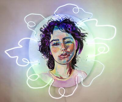 Elizabeth Chapin, 'Blue Lace Macro', 2019