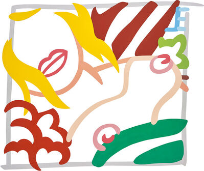 Tom Wesselmann, 'Bedroom Blonde Doodle (Variation)', 1989