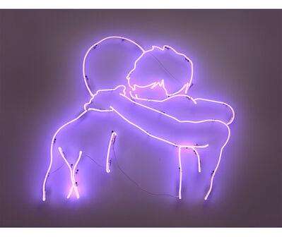 Hernán Marina, 'Abrazo (púrpura)', 2012/2019