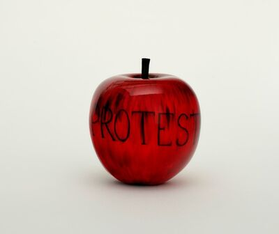 Barnaby Barford, 'Protest (Apple)', 2019