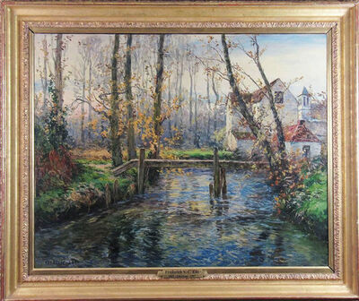 Frederic Charles Vipond Ede, 'October Mill Stream', ca. 1910