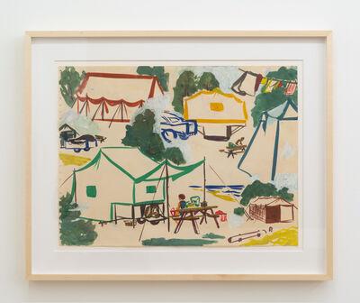 Paula Brunner Abelow, 'Campsite', ca. 1960