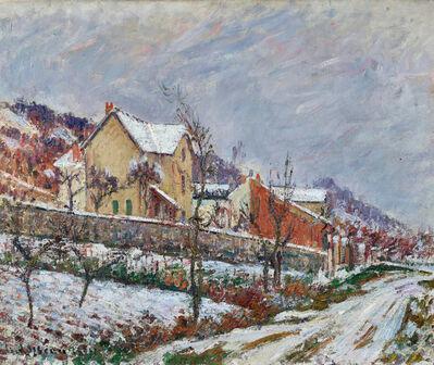 Gustave Loiseau, 'La Neige en 1911', 1911