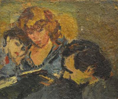 Aron Froimovich Bukh, 'Family portrait', 1970