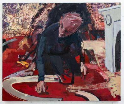Michael Ajerman, 'Christmas in Brixton (Portrait of Michael Hastings)', 2012-2017
