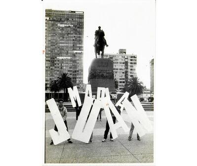 Clemente Padín, 'Juan y María', 1988