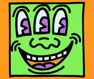 Keith Haring, 'Three Eyes (Icons)', 1990