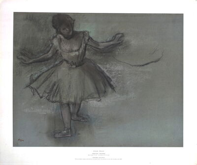 Edgar Degas, 'A Ballet Dancer'