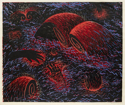 Louisa Chase, 'Red Sea', 1983