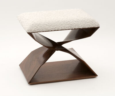 Carol Egan, 'Sculptural Hand-Carved Stool', United States-2012