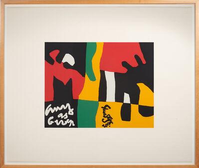 "Stuart Davis, 'Untitled from the ""Ten Works x Ten Painters"" portfolio', 1964"