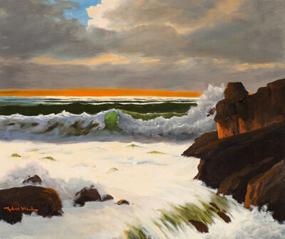 Robert William Wood, 'Busy Surf', 19th/20th Century