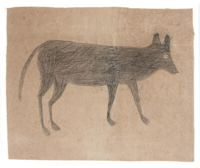 Bill Traylor, 'Female Dog'
