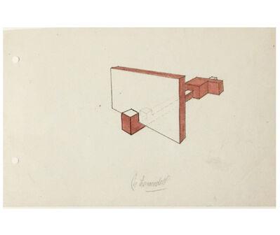 Noemi Escandell, 'Boceto para estructura', 1966