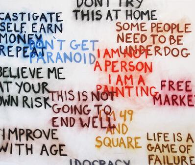 Sean Landers, 'I Am A Painting', 2011