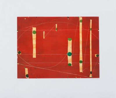 Caio Fonseca, 'Three String Etching Greenpoint', 2006
