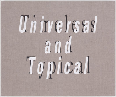 Eric Magnuson, 'Universal and Topical/Timeless and Typical', 2011