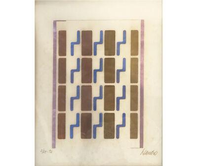 Leandro Katz, 'Alfabeto nuclear', 1971