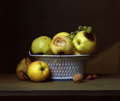 Sharon Core, 'Early American, Apples in a Porcelain Basket', 2008