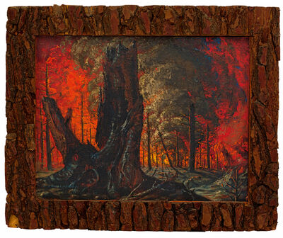Vladimir Tretchikoff, 'The Forest Fire'
