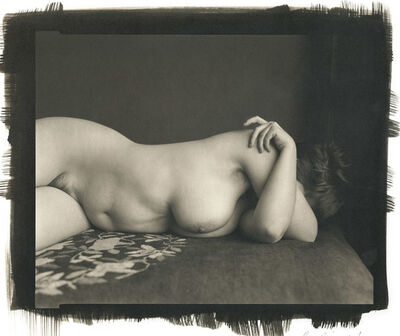 Ray Bidegain, 'Nude Wrapped in Translucent Material', 2010