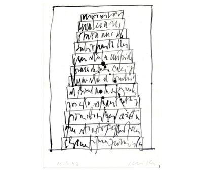 Guillermo Deisler, 'Torre de Babel', 1992