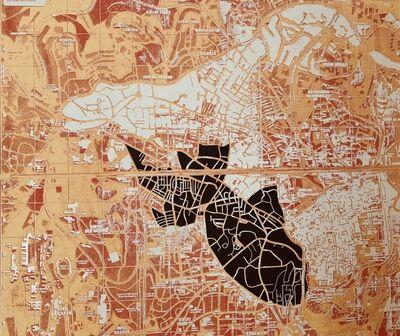 Ibrahim Miranda Ramos, 'Mapaglypha: A Goldfish in Jerusalem City', 2011
