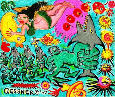 Richard Gessner, 'Morphing Strongmen', 2007