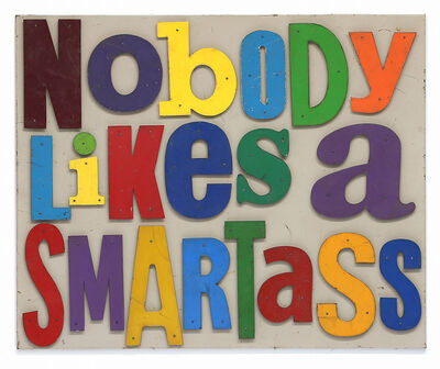 David Buckingham, 'Nobody Likes A Smartass', 2019