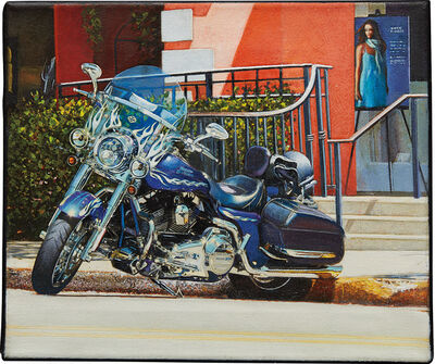 Tom Blackwell, 'Parked Harley - Third St. Naples', 2010