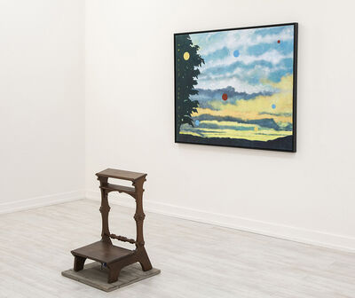 Gary Westford, 'American Landscape (Sunrise/Sunset), w/ Prayer Stand', 2020
