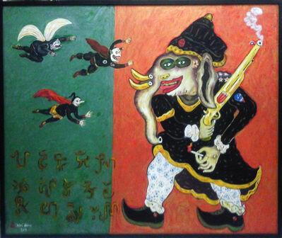 Heri Dono, 'Raja Gajah With Three Punakawan', 2011