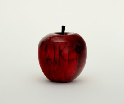 Barnaby Barford, 'Likes (Apple)', 2019