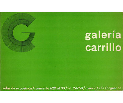 Noemi Escandell, 'Exposición Noemí Escandell', 1967