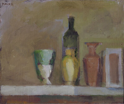 Catherine Maize, 'Five Vessels and a Box', 2015