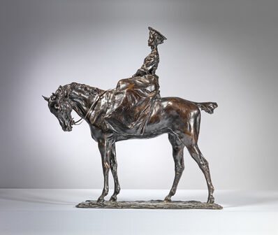 Prince Paul Troubetzkoy, 'Amazon, Woman on Horseback', ca. 1895