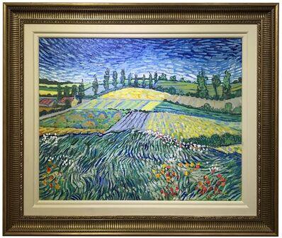 John Myatt, 'Wheatfields (after Van Gogh)', 2008