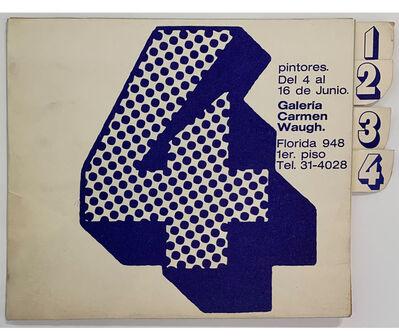 Elda Cerrato, '4 pintores', 1973