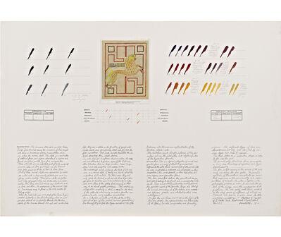 Osvaldo Romberg, 'Analysis of the Symbol of St. Mark', 1979