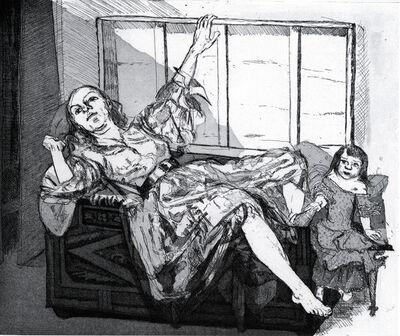 Paula Rego, 'Pendle Witches - Moth', 1996