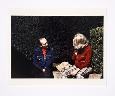 Lynn Hershman Leeson, 'Roberta and Blaine in Union Square', 1975