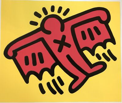 Keith Haring, 'Icon #4', 1990